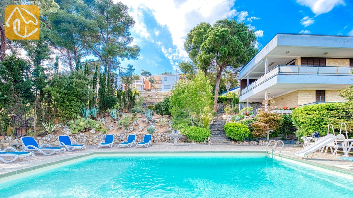 Ferienhäuser Costa Brava Spanien - Villa Emma - Villa Außenbereich