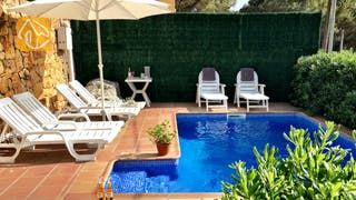 Holiday villas Costa Brava Spain - Villa Charlotte - Swimming pool