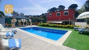 Ferienhaus Spanien - Villa Daphne - Villa Außenbereich