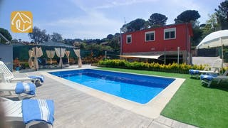 Holiday villas Costa Brava Spain - Villa Daphne - Villa outside