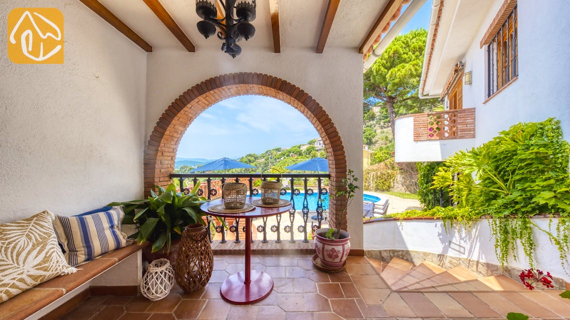 Holiday villas Costa Brava Spain - Villa Lazelle - Romantic spot