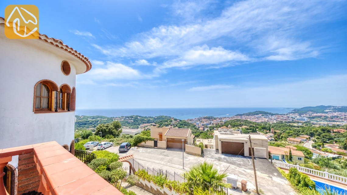 Holiday villas Costa Brava Spain - Villa Lazelle - One of the views