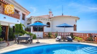 Ferienhäuser Costa Brava Spanien - Villa Lazelle - Schwimmbad