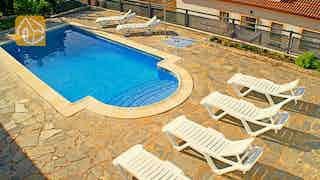 Holiday villas Costa Brava Spain - Villa Kaitlyn - Terrace