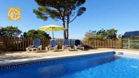 Villas de vacances Costa Brava Espagne - Villa Daisy - Piscine