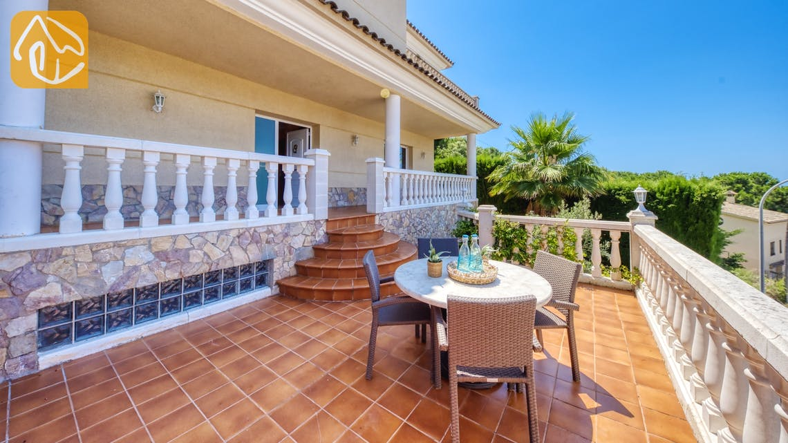 Holiday villas Costa Brava Spain - Villa Lorena - Villa outside
