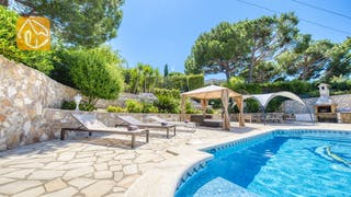 Holiday villas Costa Brava Spain - Villa Lorena - Swimming pool