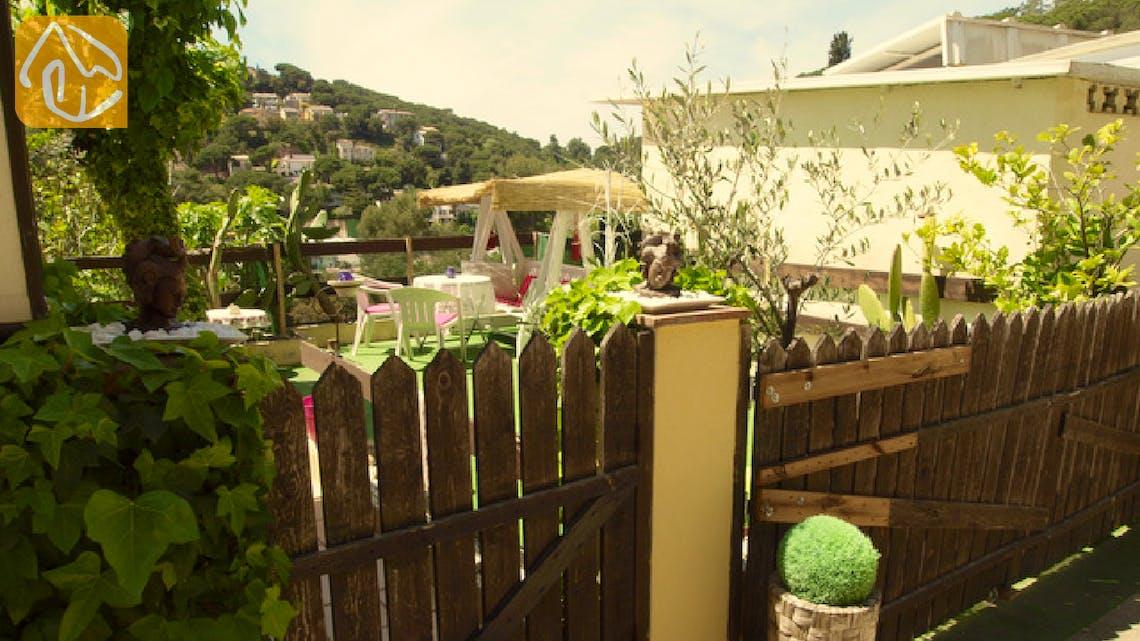 Villas de vacances Costa Brava Espagne - Casa Sunflower - Coin romantique