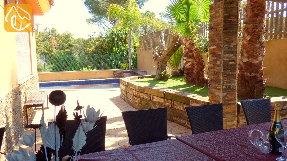 Holiday villas Costa Brava Spain - Villa Lucia - Villa outside