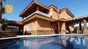 Holiday villa Spain - Villa Lucia - Villa outside