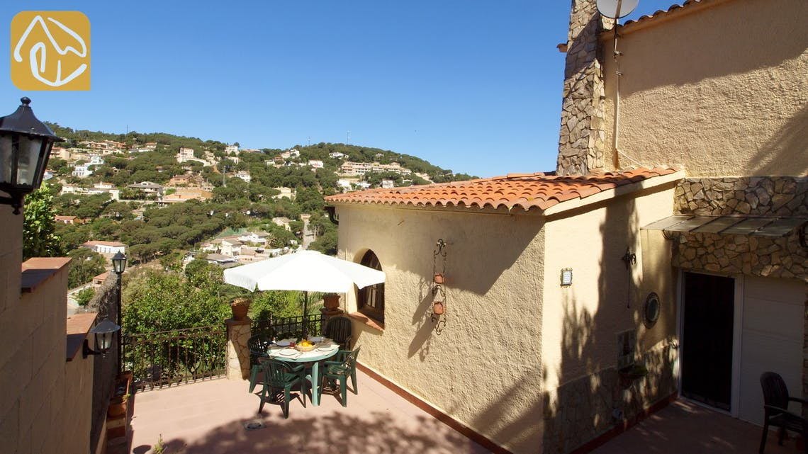 Holiday villas Costa Brava Spain - Villa Shelby - Terrace