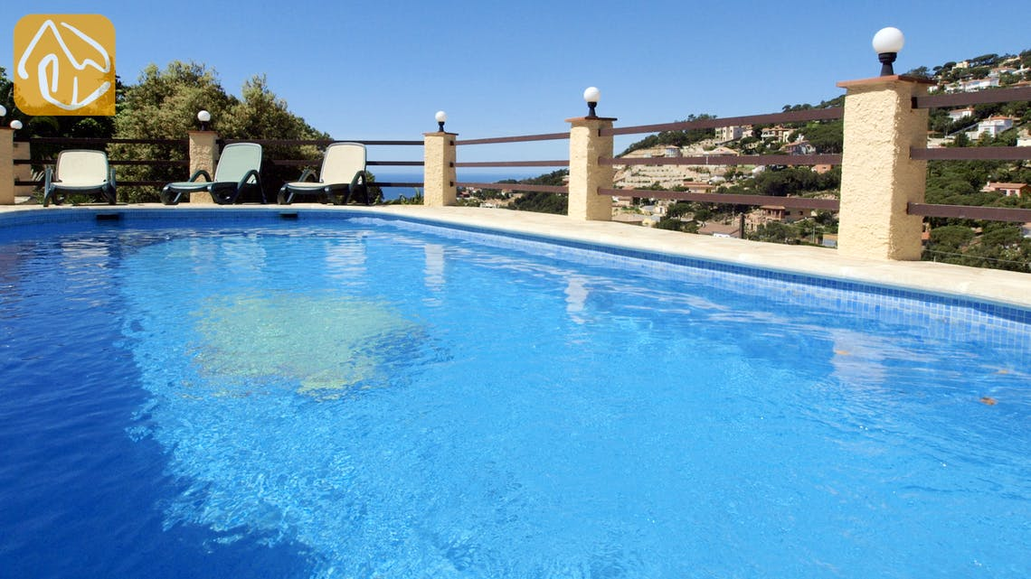 Vakantiehuizen Costa Brava Spanje - Villa Shelby - Zwembad