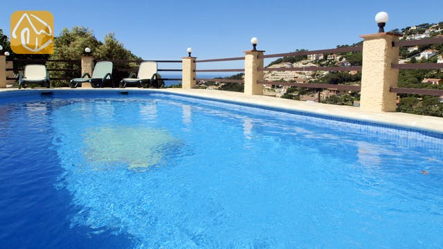 Casas de vacaciones Costa Brava España - Villa Shelby - Piscina