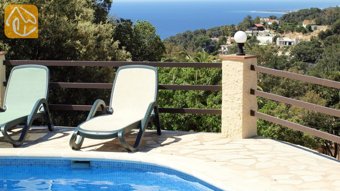 Holiday villas Costa Brava Spain - Villa Shelby - One of the views