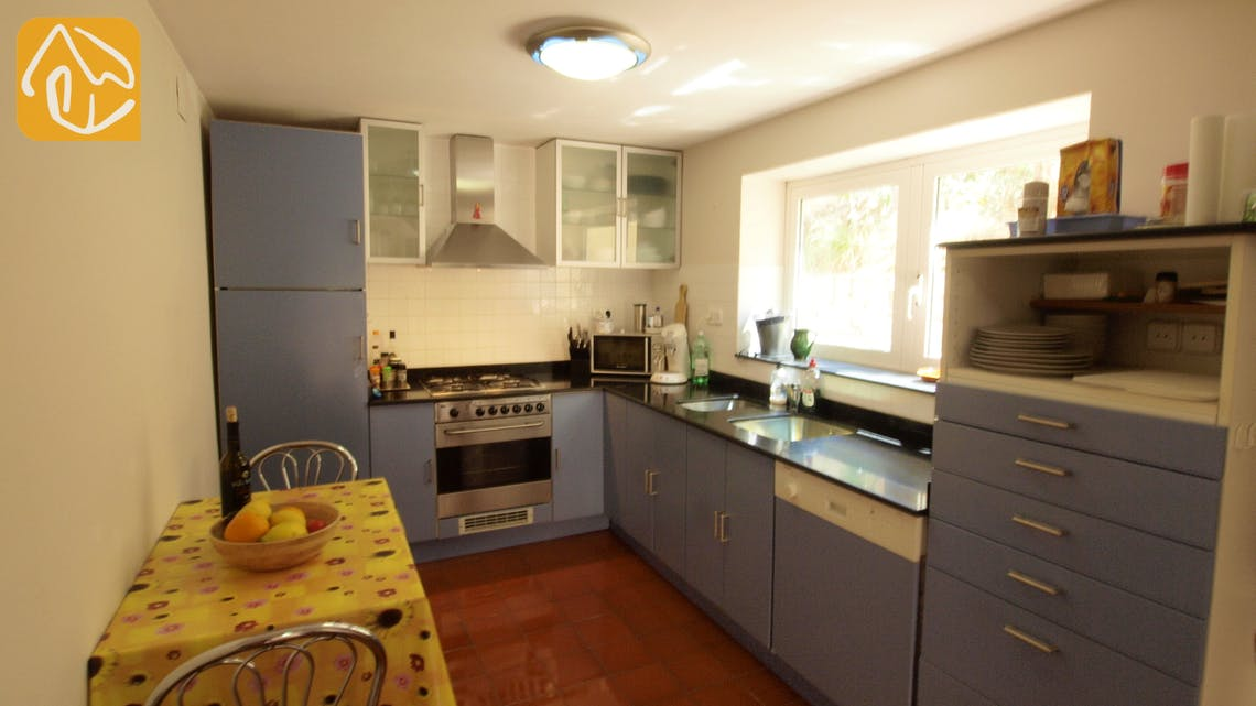 Holiday villas Costa Brava Spain - Villa Shelby - Kitchen