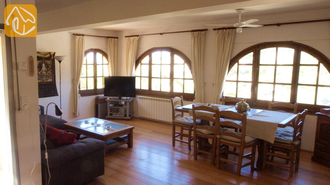 Holiday villas Costa Brava Spain - Villa Shelby - Living room