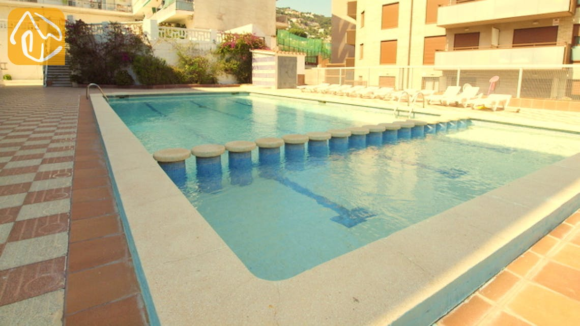 Vakantiehuizen Costa Brava Spanje - Apartment Minnie - Communal pool