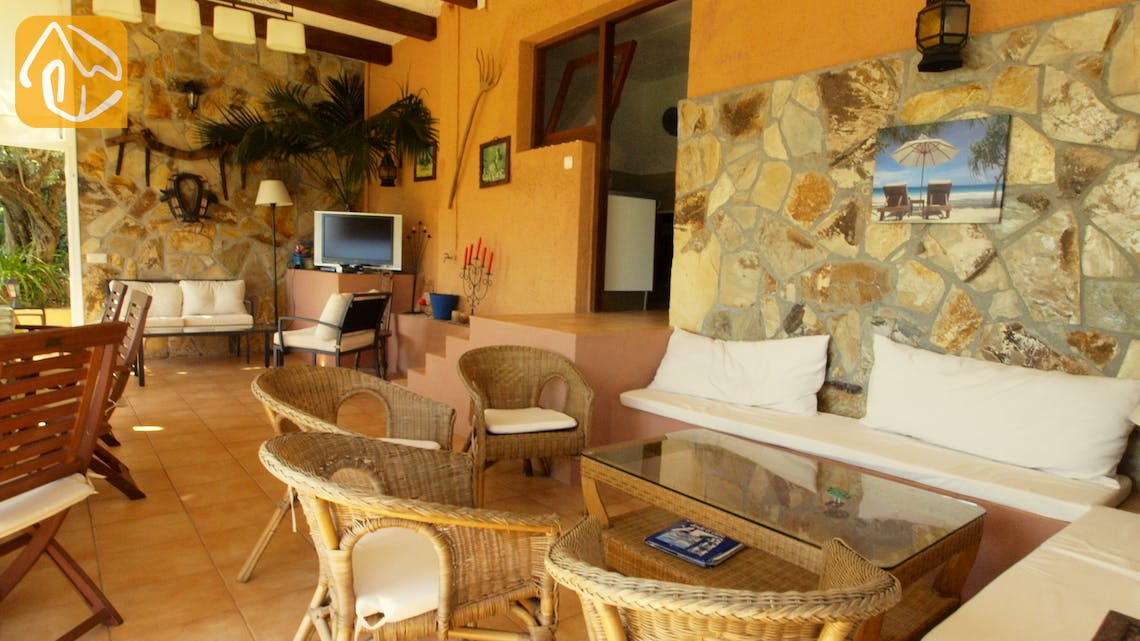 Holiday villas Costa Brava Spain - Villa Soraya - Lounge area