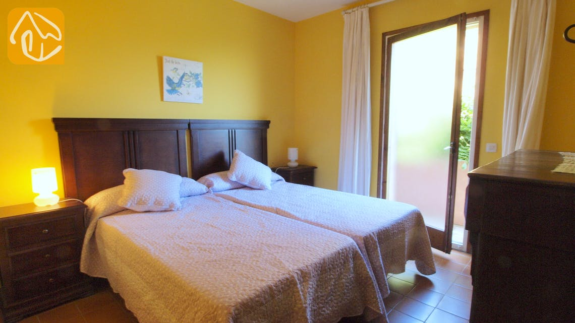 Holiday villas Costa Brava Spain - Villa Soraya - Bedroom