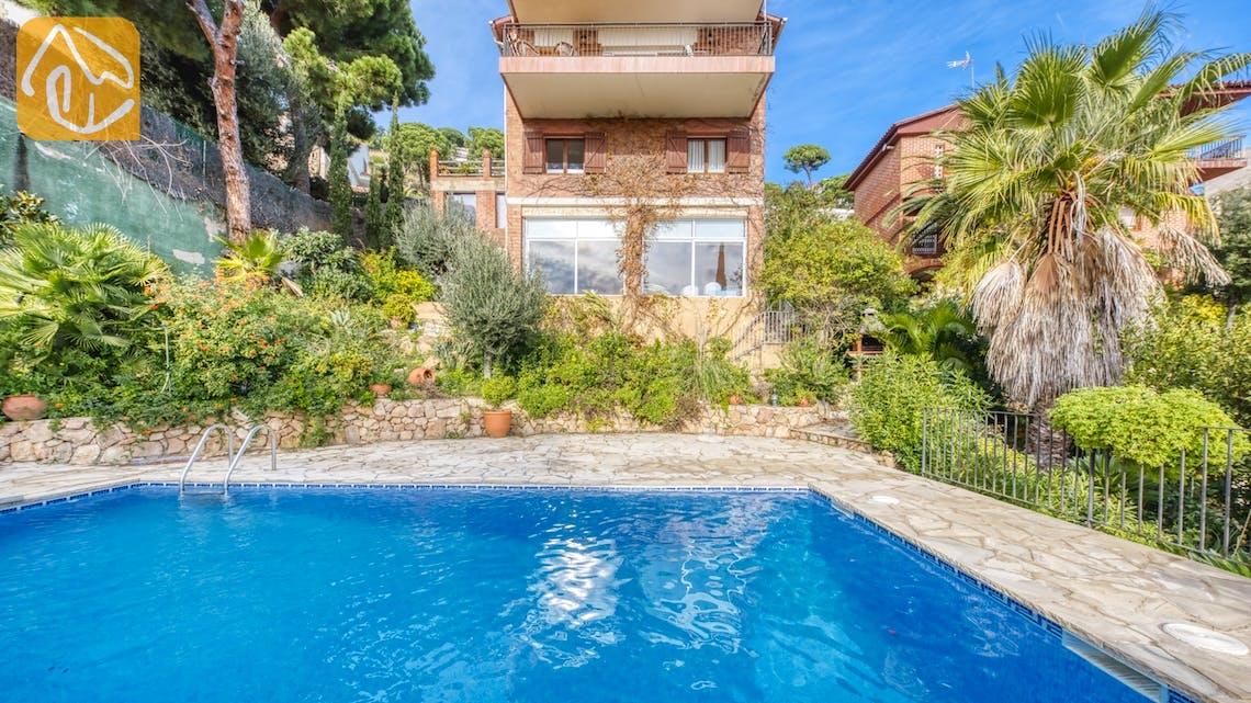 Casas de vacaciones Costa Brava España - Villa Soraya - Afuera de la casa