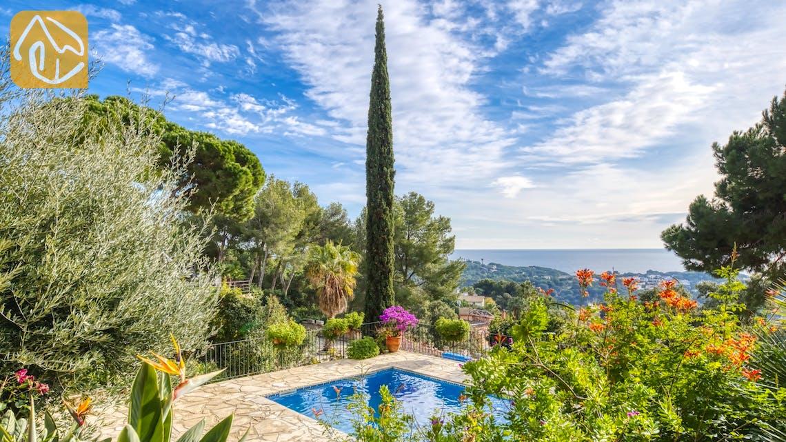 Casas de vacaciones Costa Brava España - Villa Soraya - Piscina