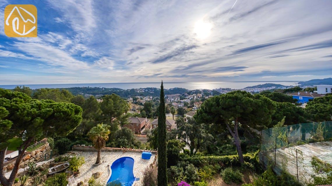 Holiday villas Costa Brava Spain - Villa Soraya - One of the views