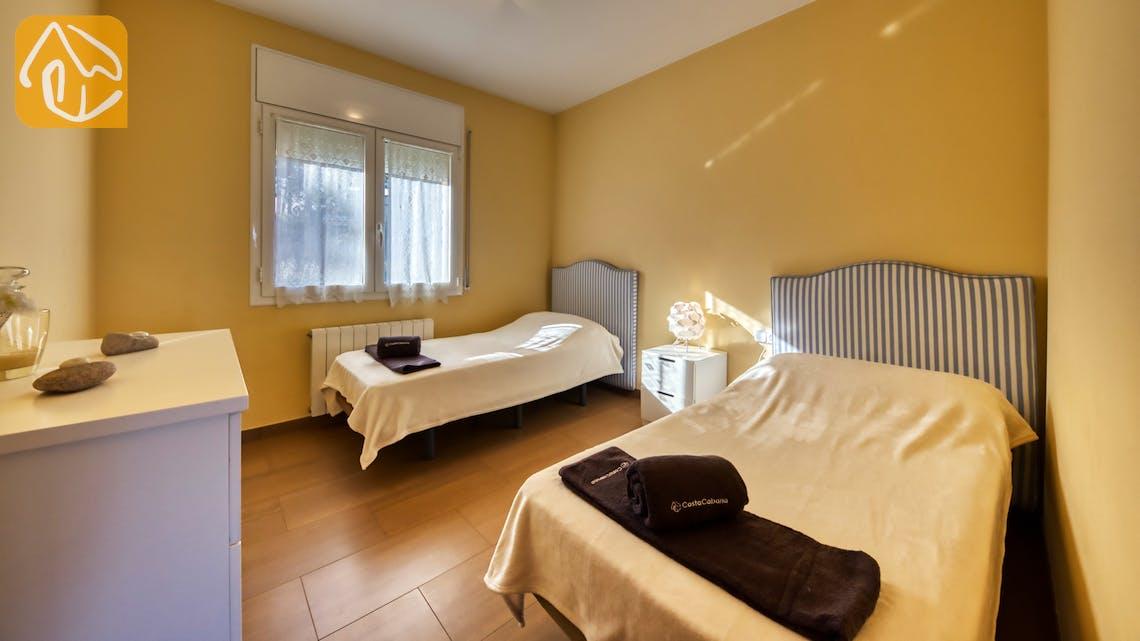 Casas de vacaciones Costa Brava España - Villa Picasso - Dormitorio