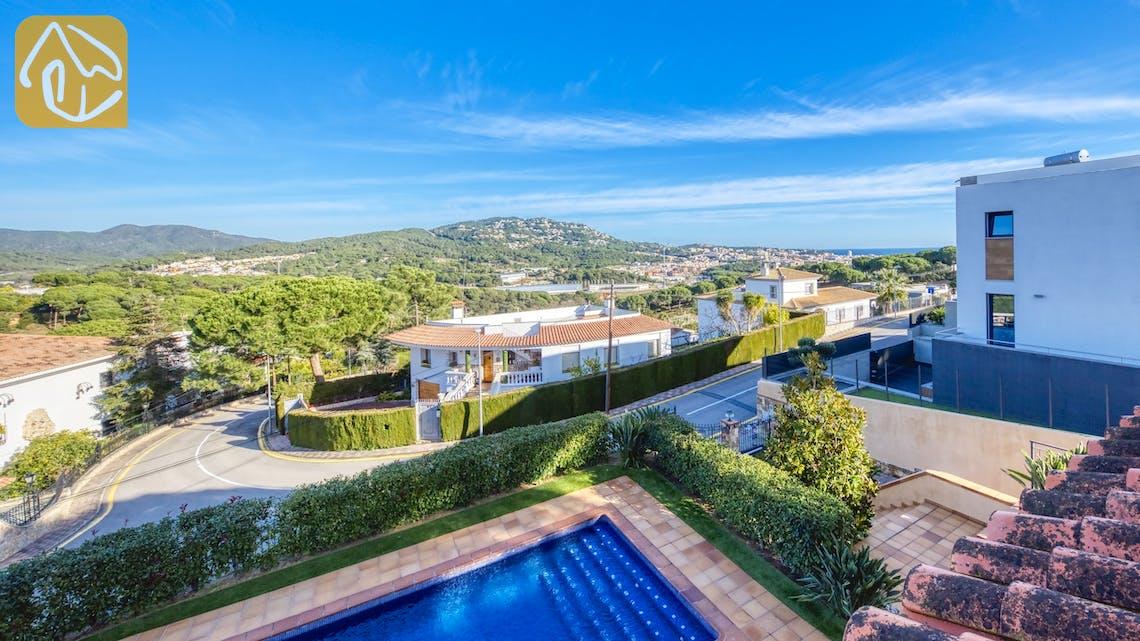 Holiday villas Costa Brava Spain - Villa Picasso - One of the views