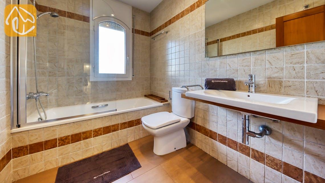 Vakantiehuizen Costa Brava Spanje - Villa Picasso - Badkamer