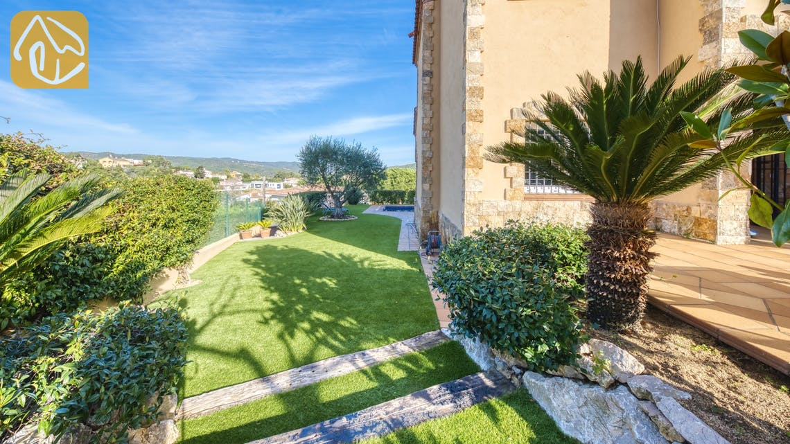 Vakantiehuizen Costa Brava Spanje - Villa Picasso - Tuin
