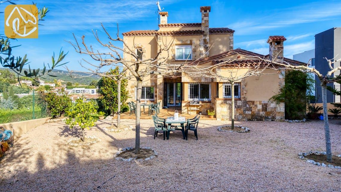 Casas de vacaciones Costa Brava España - Villa Picasso - BBQ Area