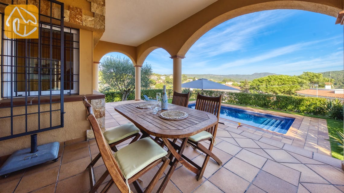 Casas de vacaciones Costa Brava España - Villa Picasso - Afuera de la casa
