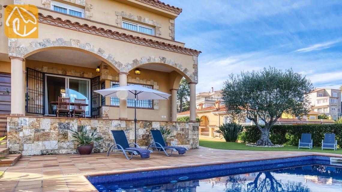 Ferienhäuser Costa Brava Spanien - Villa Picasso - Schwimmbad