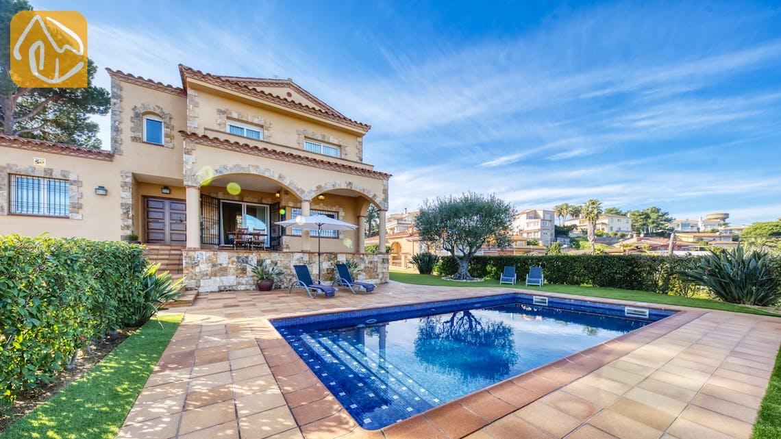 Casas de vacaciones Costa Brava España - Villa Picasso - Piscina