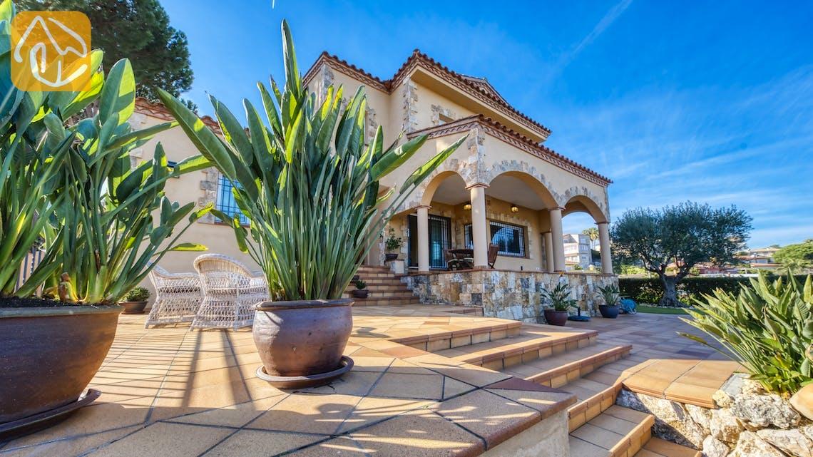 Casas de vacaciones Costa Brava España - Villa Picasso - Terraza
