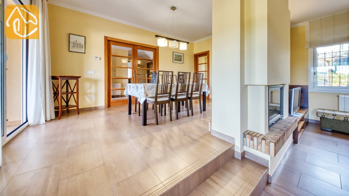 Vakantiehuizen Costa Brava Spanje - Villa Picasso - Diner zone