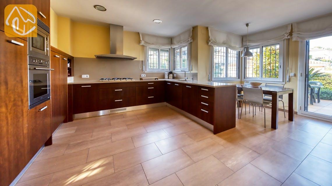 Vakantiehuizen Costa Brava Spanje - Villa Picasso - Keuken