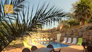 Holiday villas Costa Brava Spain - Villa Chinchilla - Terrace
