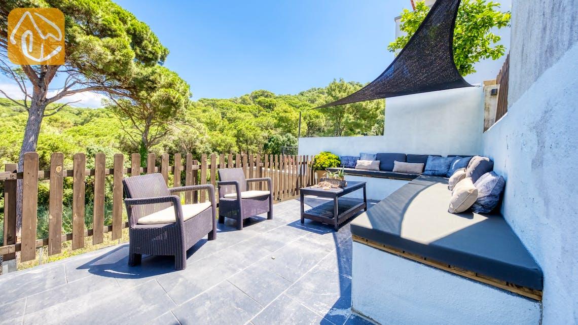 Ferienhäuser Costa Brava Spanien - Villa Fransisca - Sitzecke