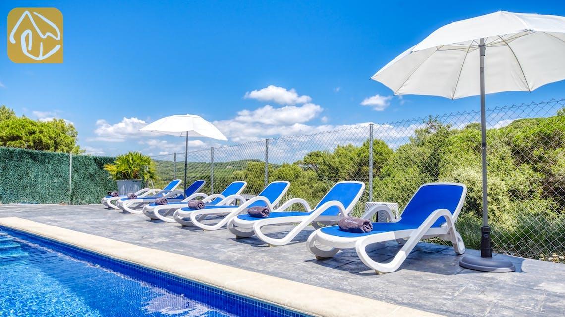 Holiday villas Costa Brava Spain - Villa Fransisca - Swimming pool