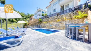 Holiday villas Costa Brava Spain - Villa Fransisca - Swimming pool