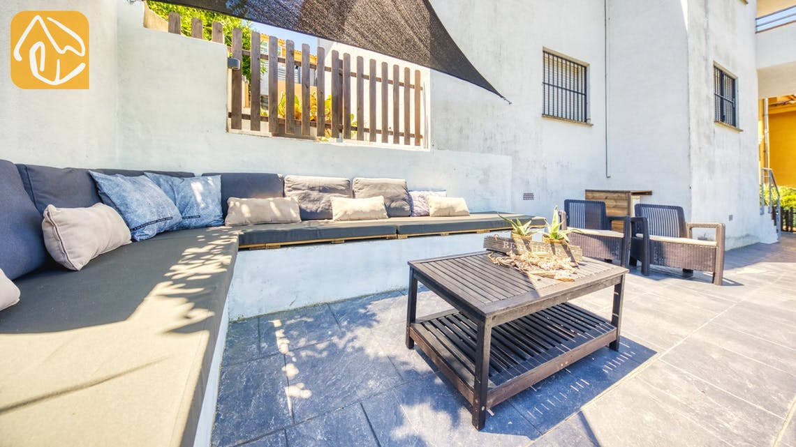 Holiday villas Costa Brava Spain - Villa Fransisca - Lounge area