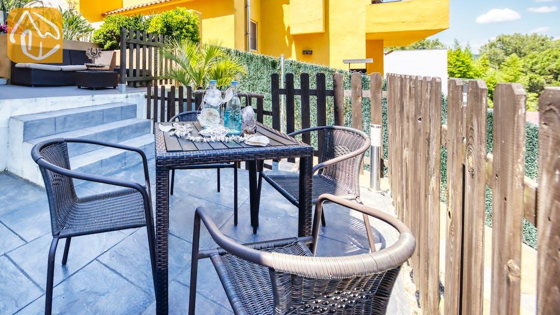 Ferienhäuser Costa Brava Spanien - Villa Fransisca - Villa Außenbereich