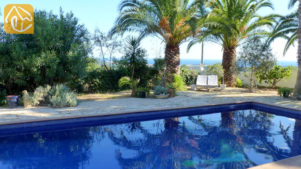 Holiday villas Costa Brava Spain - Villa Bloomer - Terrace
