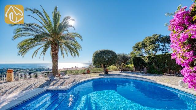 Casas de vacaciones Costa Brava España - Villa Gabriella - Afuera de la casa