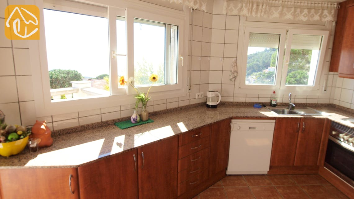 Vakantiehuizen Costa Brava Spanje - Villa Senna - Additional kitchen