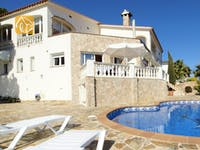 Holiday villas Costa Brava Spain - Villa Senna - Villa outside