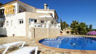 Ferienhäuser Costa Brava Spanien - Villa Senna - Villa Außenbereich