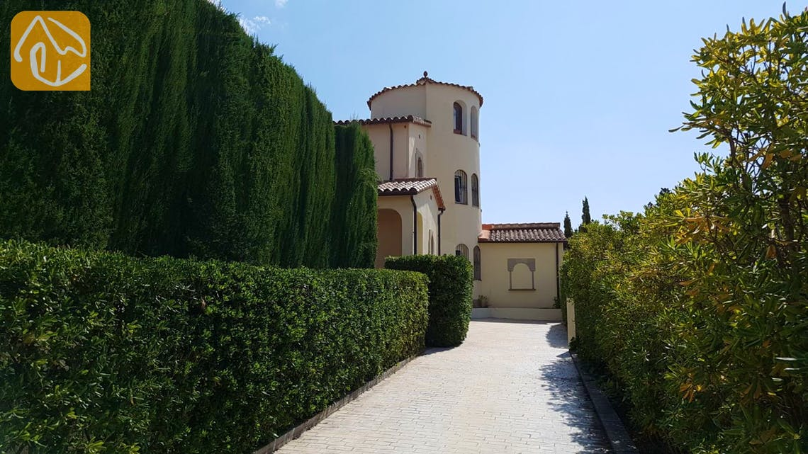 Vakantiehuizen Costa Brava Spanje - Villa Gala - Zwembad