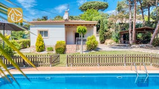 Holiday villas Costa Brava Spain - Villa Chantal - Villa outside